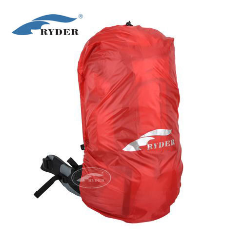 Custom Logo Printed Waterproof Nylon Fabric PU3000mm Outdoor Camping Hiking Backpack Raincover Backpacking