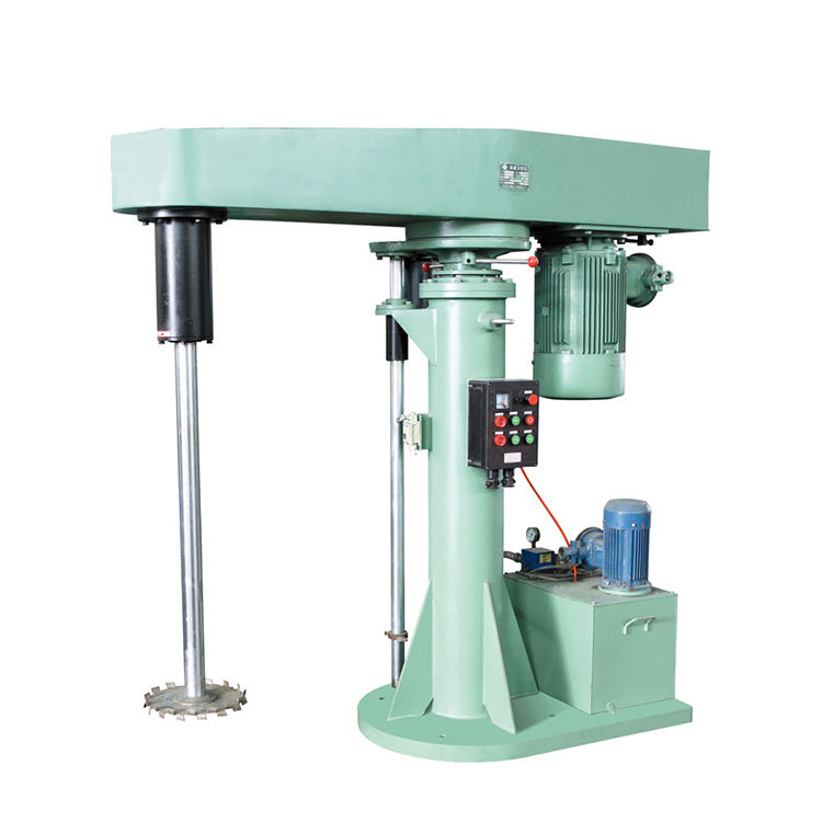 high speed shear ink disperser and paint dispersing machine