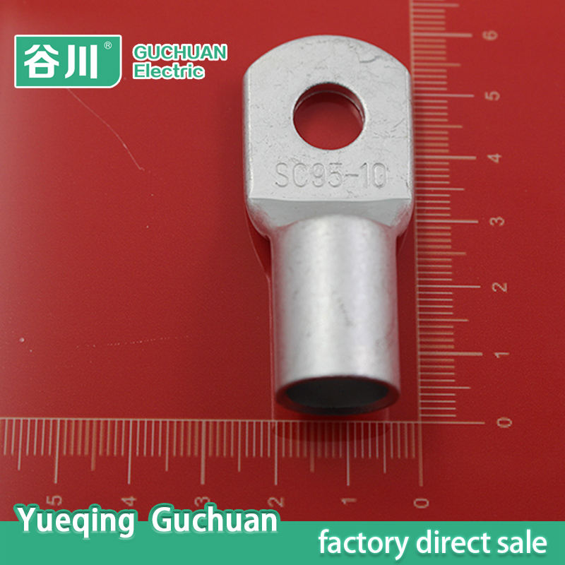 Copper cable terminal,High quality cable lugs termination crimp type,SC95-10