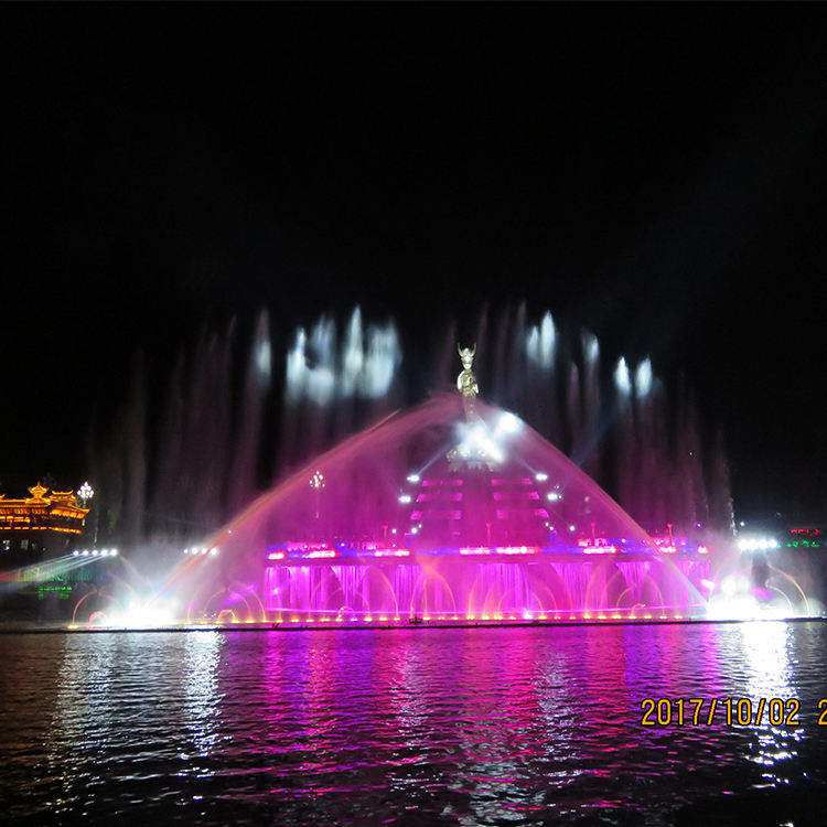 Project Case Large Size Garden Or Home Or River Dancing Music Water Fountain For Decoration Use