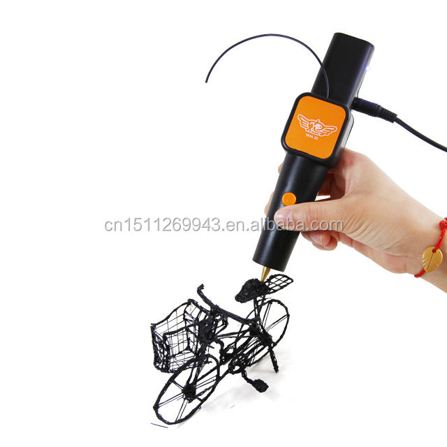 Hot sell 2018 Amazon DIY 3d pen with good quality 3D drawing pen