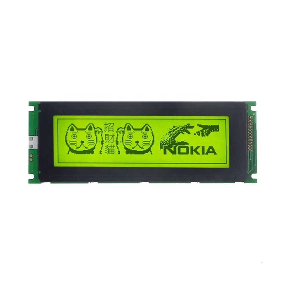 TCC LCD 24064(B4)Shenzhen lcd manufacturer dot matrix graphic T6963c controller 22-pin 240X64 lcd display module