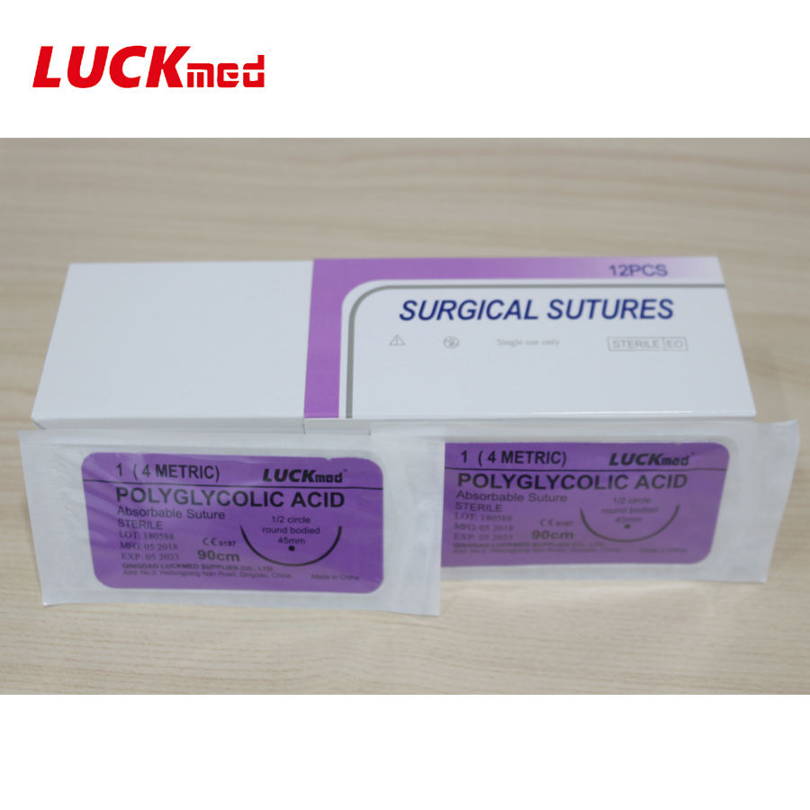 Safety Absorbable Surgical Suture
