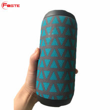 FT-F3 2018 Promotion Led Fabric Power Bank Music Wireless Speaker Bluetooth, Mini Hoparlor Waterproof Portable Bluetooth Speaker