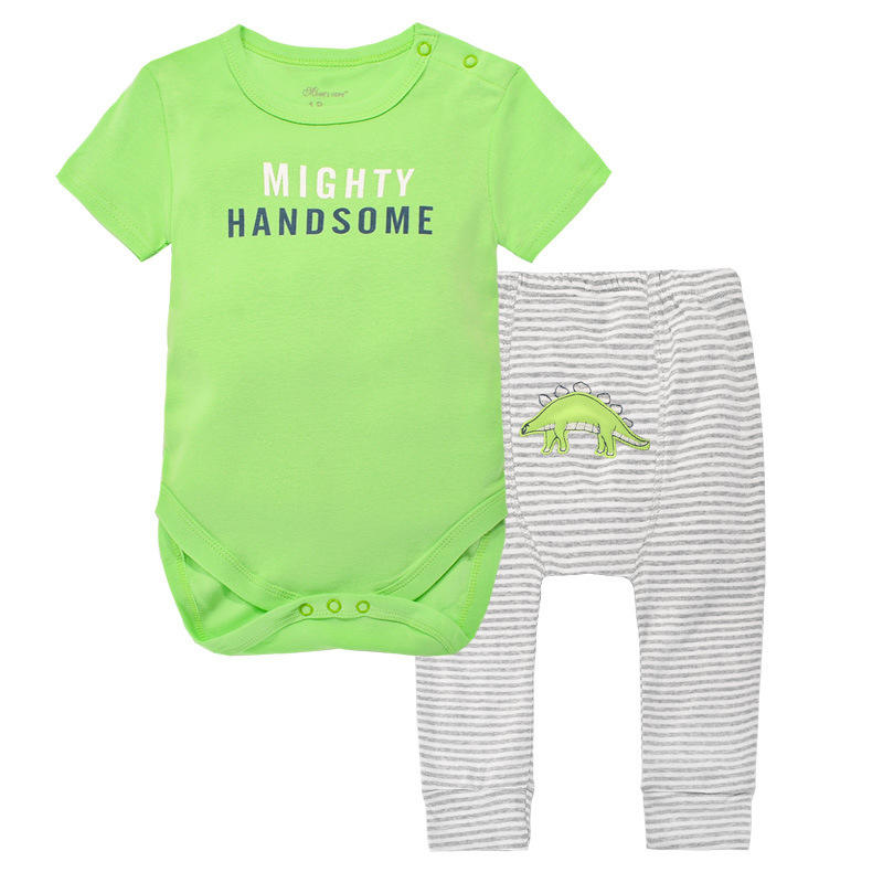 baby clothes pants top suit 100% Cotton Long Sleeved Clothing Child Garment Toddler pant Infant Clothes Baby Bodysuits