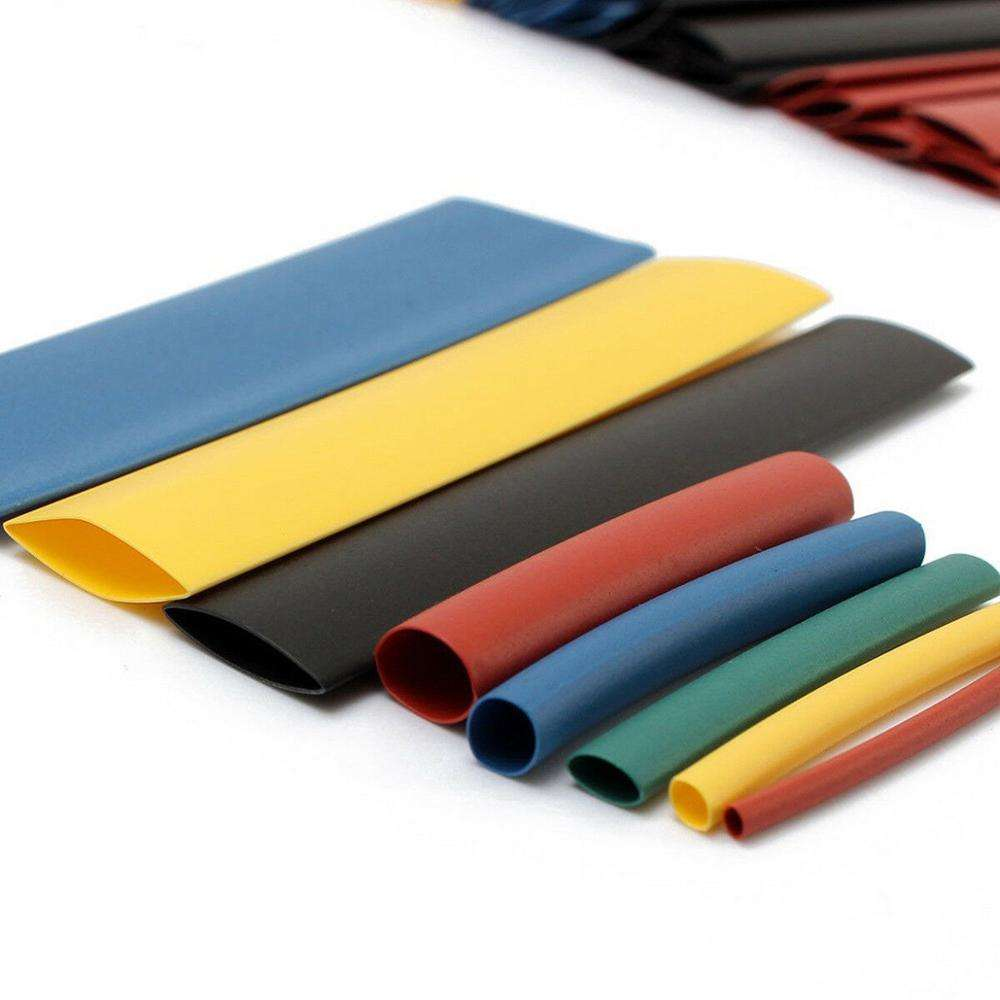 Hampool Colorful Polyolefin Insulation Heat Shrink Electrical Tube Sleeving