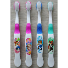 Chinese factory extra soft toothbrush Kids Cartoon Pattern Children Lowest Price