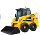 earth moving equipment,skid steer loader,landscaping tools