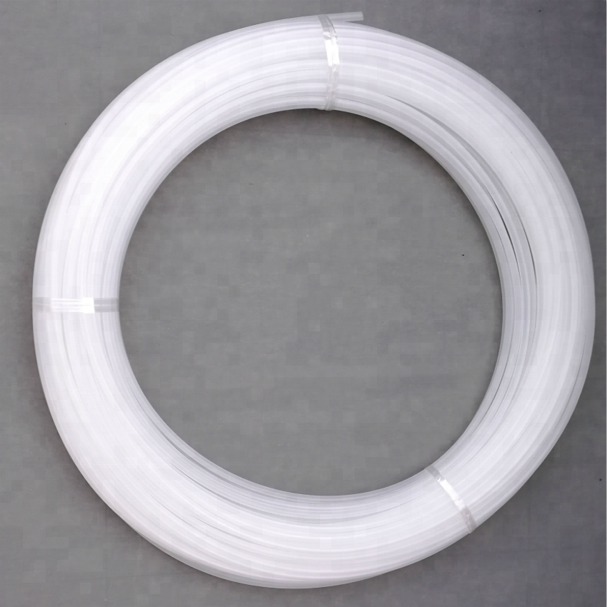 Custom sizes round plastic sleeve white polyamide 6 Nylon tube