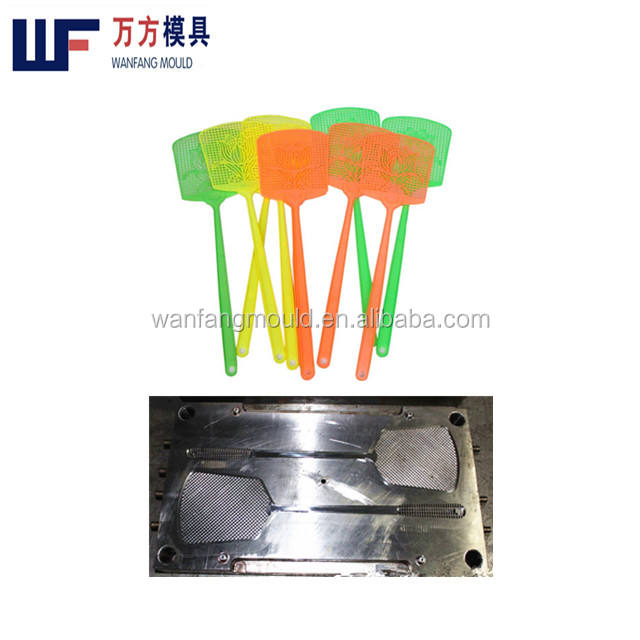 house hold plastic injection fly-swatter mould