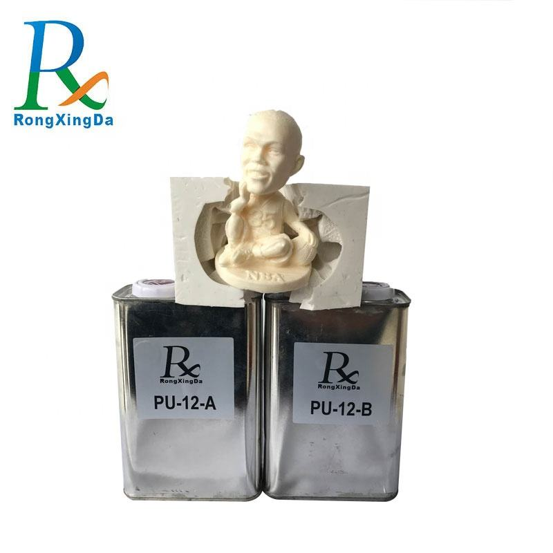 China supplier two-part water activated polyurethane resin for sculpture resin statues