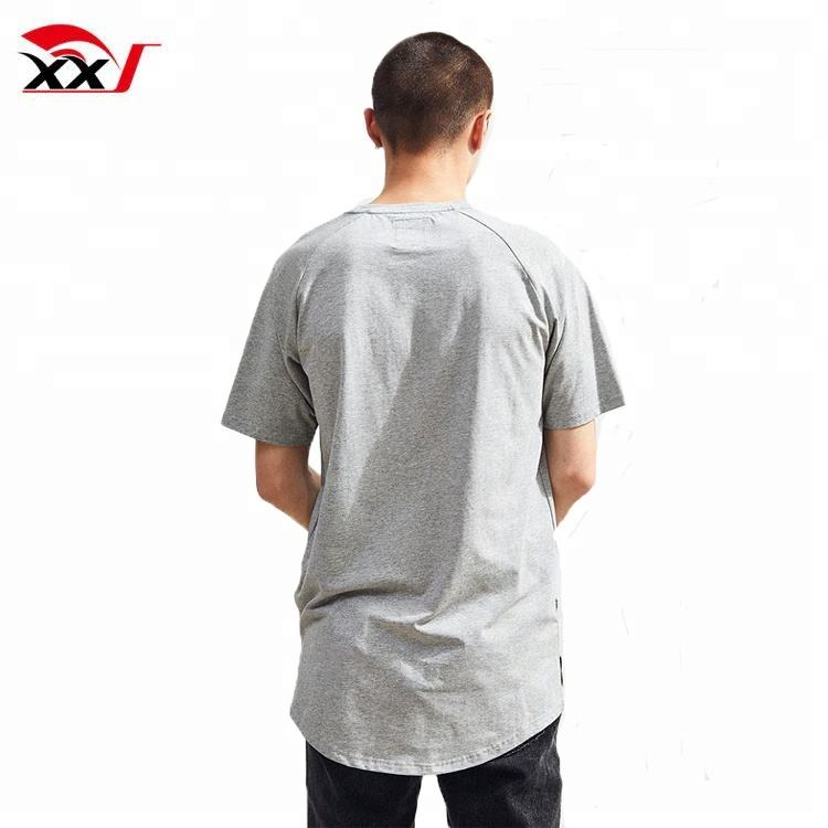 streetwear clothing 1 dollar t shirts oversized raglan open side men tshirt