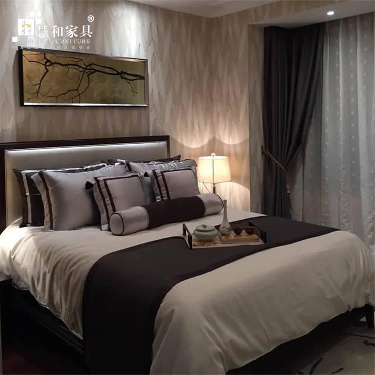 Custom tradicional madera dormitorio principal, proveedores de China lujo habitación conjunto