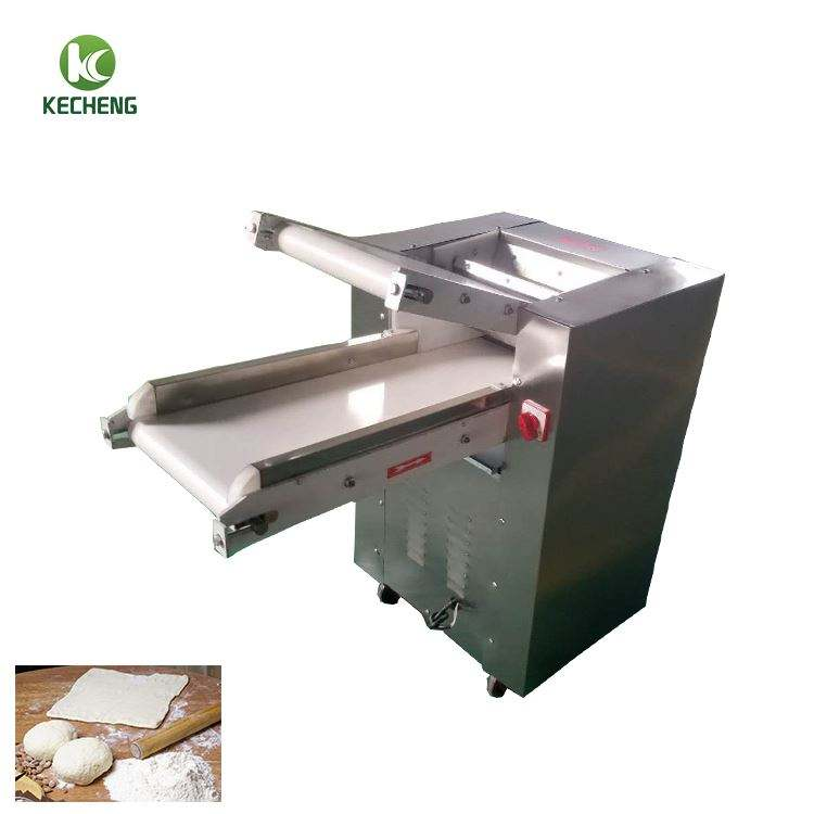 Stainless Steel Peralatan Bakery Pai Roller Mesin/Stainless Steel Peralatan Bakery/Reversible Dough Sheeter Sabuk