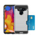 Armor shockproof TPU+PC phone case with card slot for LG V40 full coverage 360 protect custom logo back cover