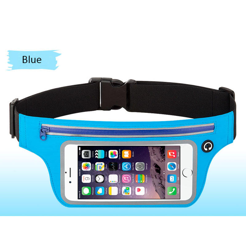 Custom waist bag /universal travel belt bag /runner bum bag for mobile phone