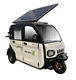 New energy solar panel electric scooter three wheel tricycle
