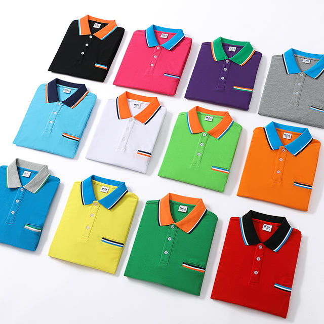 China Customized Manufacturer wholesale Custom Logo printing 100% cotton polo t shirt with pocket