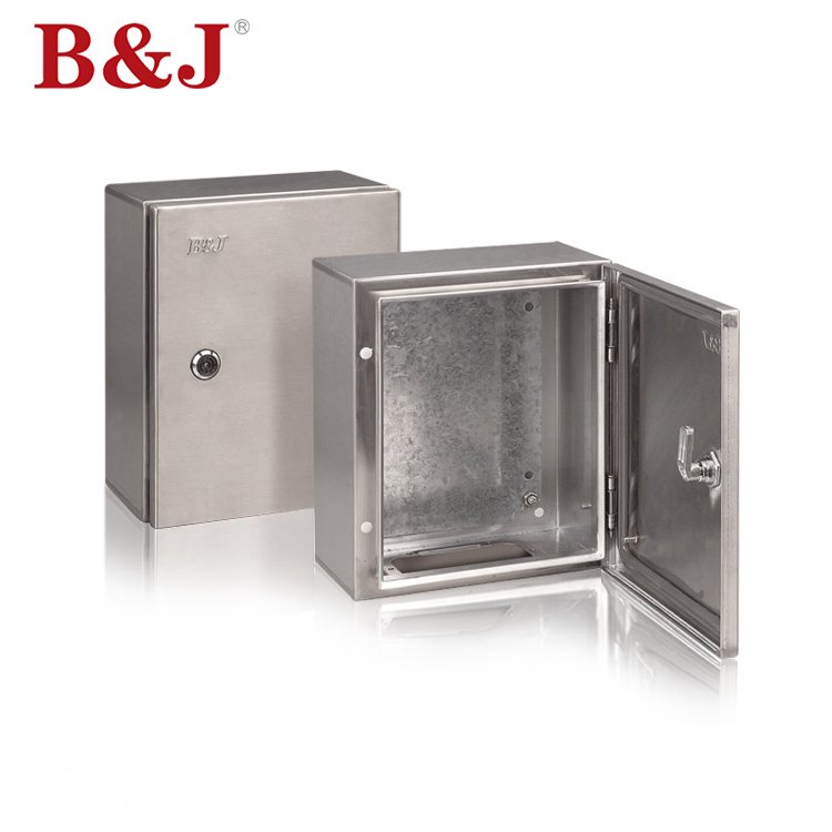 B & J IP66 Tahan Air Stainless Steel Kandang Box Panel Listrik