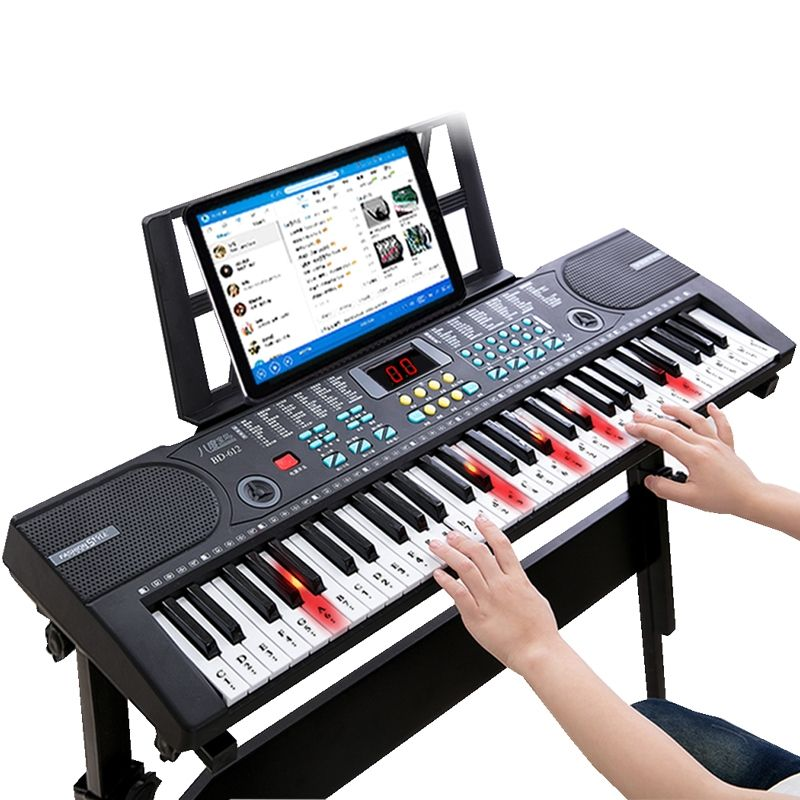 61 touch response keys electric keyboard, oriental keyboard, electronic organ baby piano musical toys