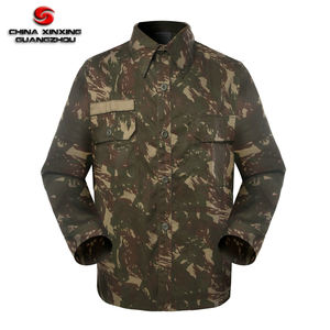 Custom Army Polyester 65 Cotton 35 Camouflage BDU Suit Military Uniforms