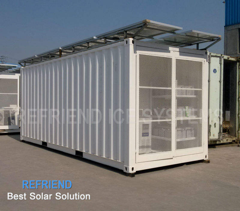 Solar Power 20' Reefer Container