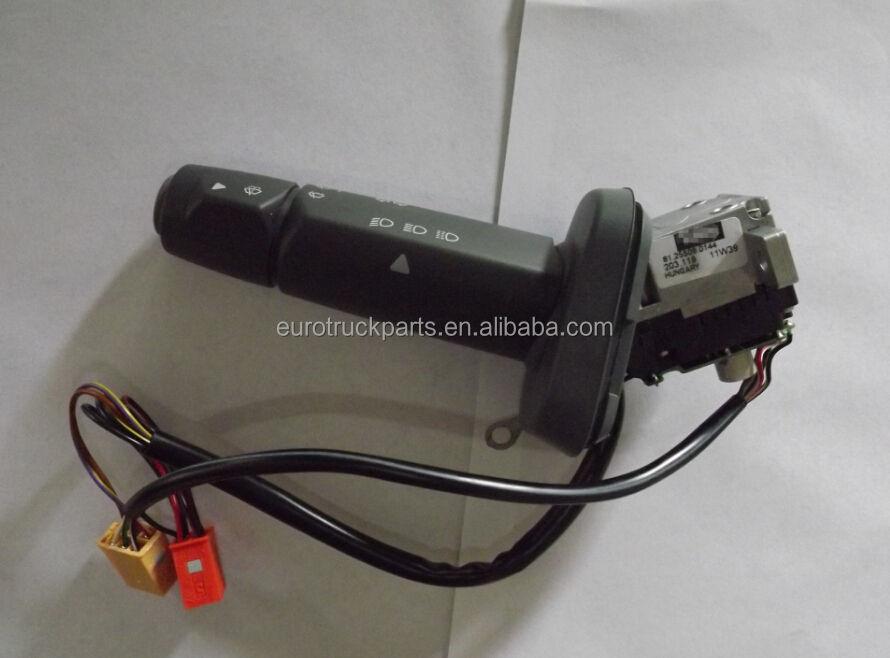 Man TGA L 2000 F 90 Luz Indicadora De Columna De Dirección Interruptor del limpiaparabrisas tallo Nuevo