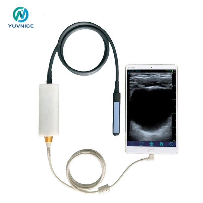 Yuvnice Veterinary Vet Rectal Linear USB probe ultrasound for animal use