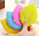 Leaf Silicone Cup TOOL GADGET Pocket Water Cup For Traveling Toothbrush Holder/Cover/Cap Bathroom Tumblers