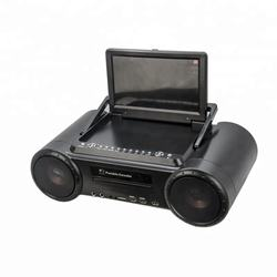 Manufacturer 9inch Portable DVD VCD Player Karaoke Car DVD With FM Radio Analog TV