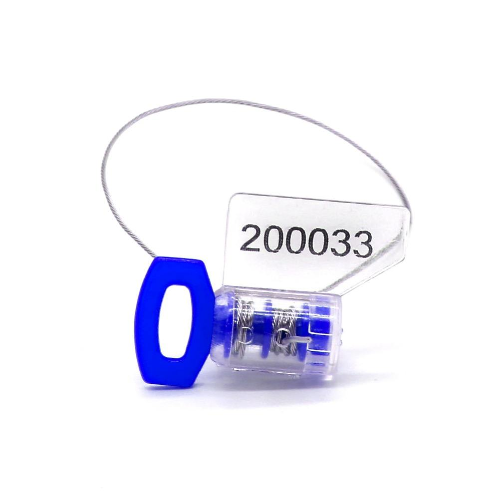 REM105 aircraft security seals numbering gas meter seal locks twist seal supplier