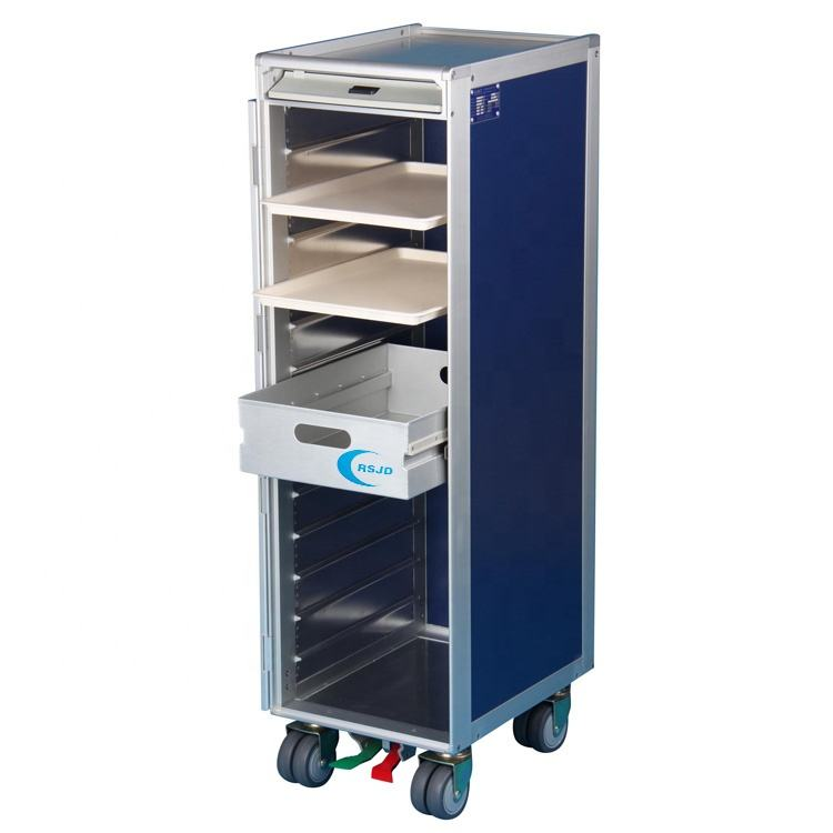 ATLAS half size aircraft inflight service cart trolley