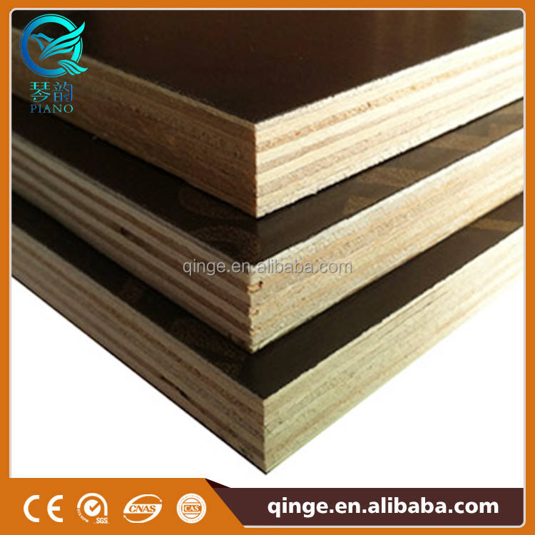Waterproof Plywood Exterior Waterproof Hardwood Film Faced Marine Plywood