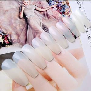 Shininglife Brand easy christmas nail designs nail tips korea hot sell artificial nails