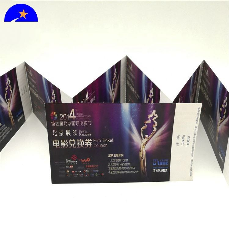 Card,ticket, voucher, etc, certificate Type and ect,paper/pet/pvc Material prevent copy printing products