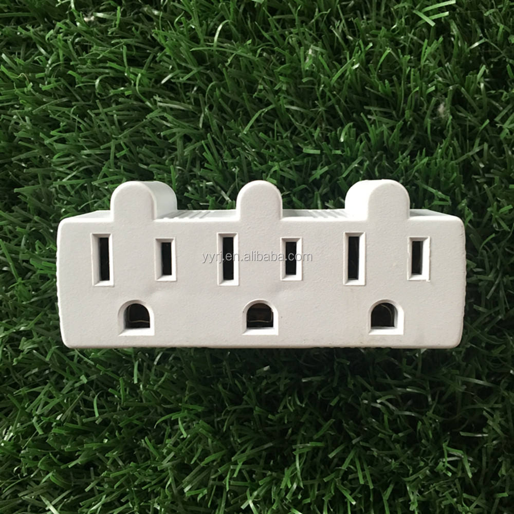 Ons 3 Outlets Aarding Adapter Stroom Tap