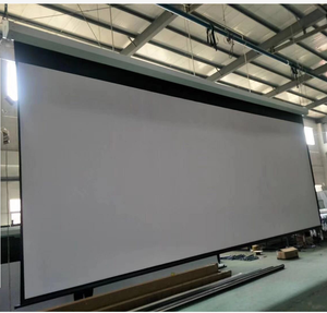 tubular motor 300 inch motorized projector screen