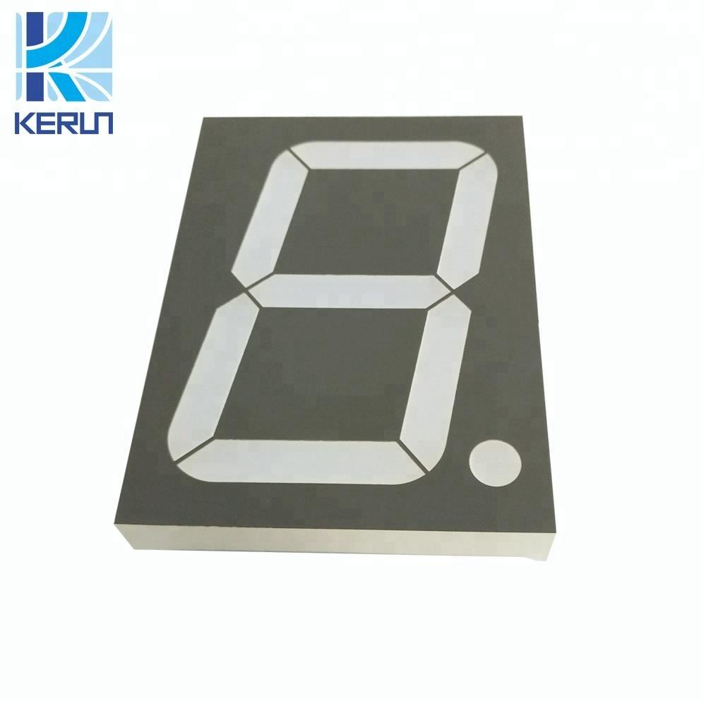 90x122x15mm grote maat FND module factory outlet een digit grote 4 inch led 7 segment display