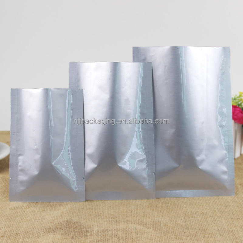 high temperature cooking 3 side sealed retort bag aluminum foil retort pouch
