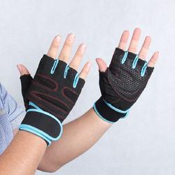 2017 factory Neoprene Women Half Finger Workout fitness Gloves