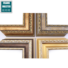 FRAME MASTER classic luxury exquisite carving decorative plastic picture frame moulding