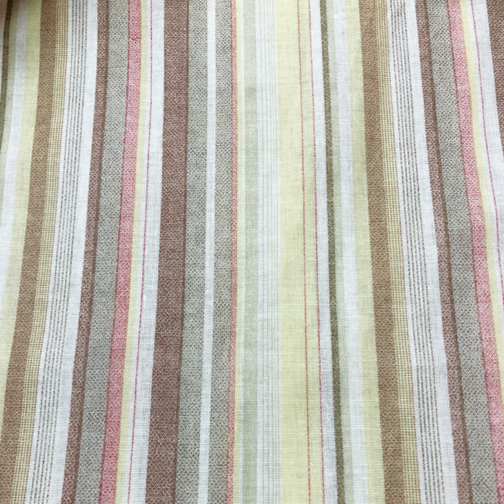 Hot sale cotton rainbow stripe printed fabric