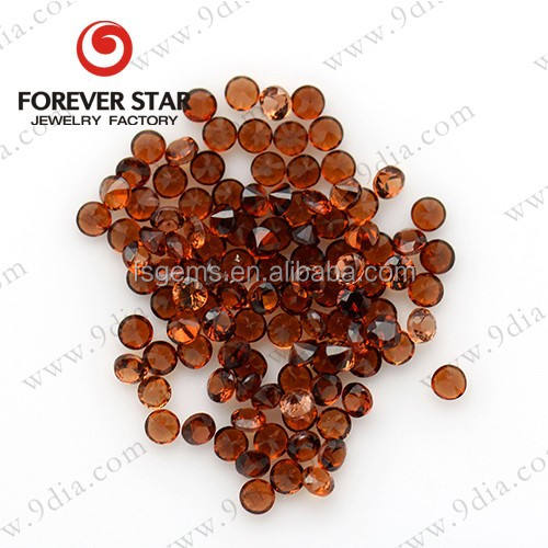 Best Price Hot sale Round Shape Red Stone Natural Garnet