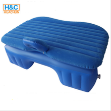 Inflatable Air Bed with built-in pump for Travel Back Seat Rest Car Mattress