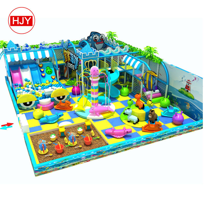 China direct selling factory custom-made commercial children's indoor game facility for sale