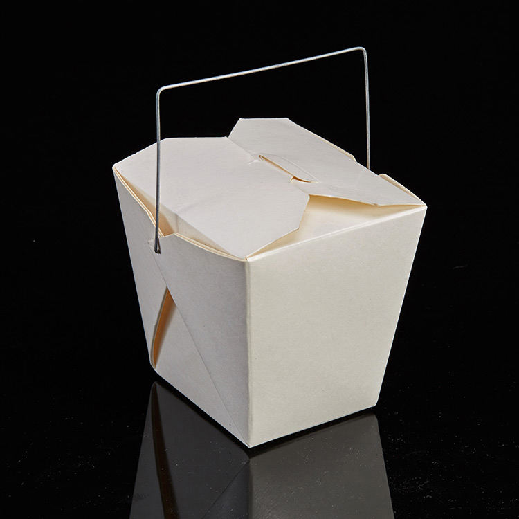 Custom Printed Disposable Pasta Take Away Food Boxes Noodle Box Lunch Box