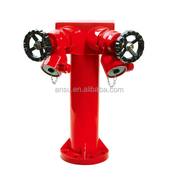 2Ways ,3Ways Fire Fighting Hydrant With Valves