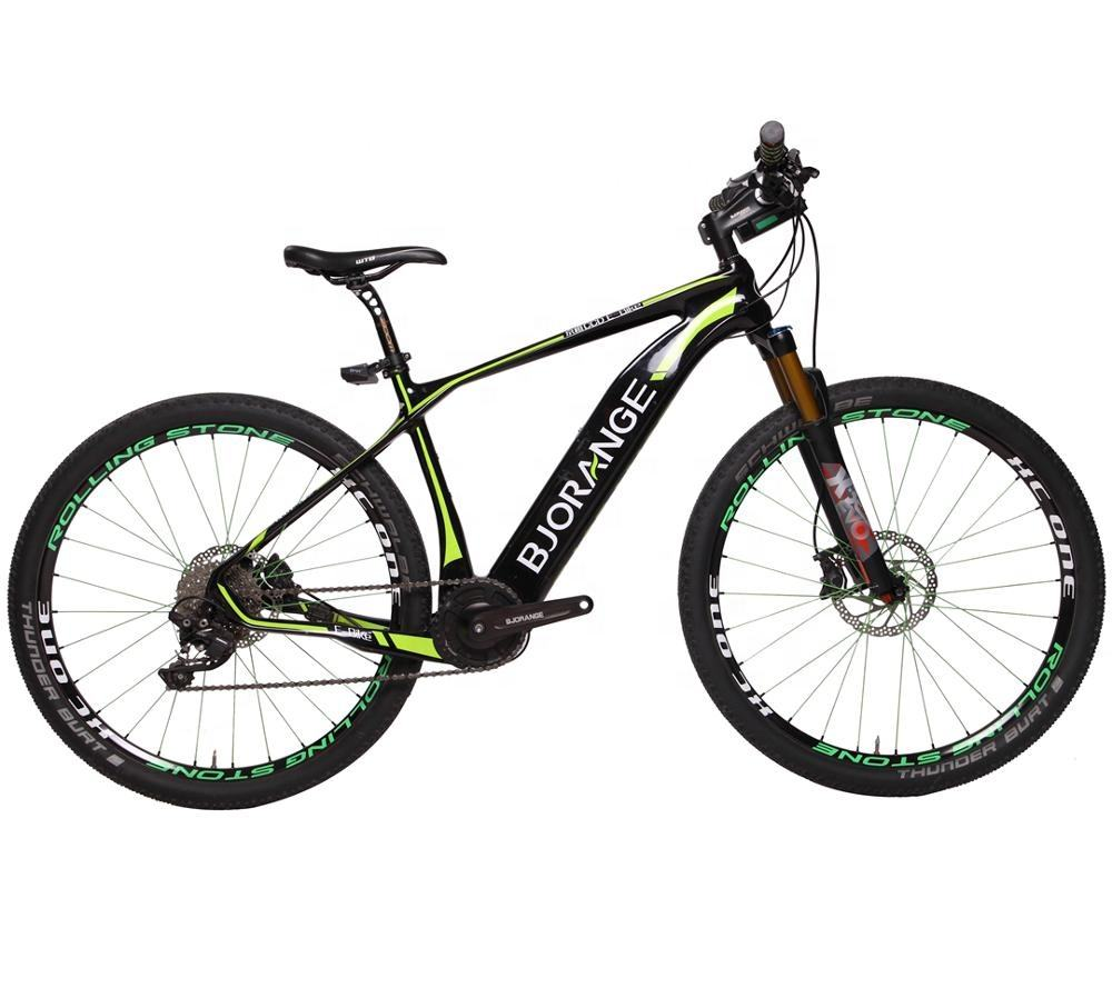 2019 Hot Sale 27.5 Inch MTB E-Bike Carbon Frame Electric mountain Bike Bicycle