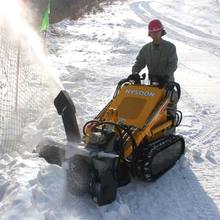 mini skid steer loader moving type snow blower toro for compact utility loader