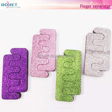BTS0014 Glitter Powder Coating Beauty Toe Separator